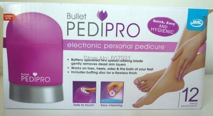 PEDIPRO Foot Care Tool Electric foot massage Exfoliating device Promote blood circulation 10pcs/lot Free shipping(China (Mainland))