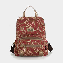 Fashion Letter Printing Backpacks For Teenage Girls 2015 New Style Small Canvas Backpack Travel Women Backpack Girl School Bags(China (Mainland))