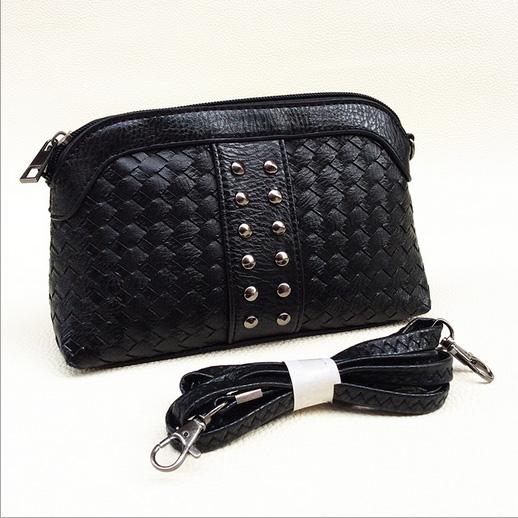2016 Fashion Women Mini Bag Rivet Leather Messenger Bags Trendy Handbags Spain Summer Syle Crossbody Bag Bolsas Dollar(China (Mainland))