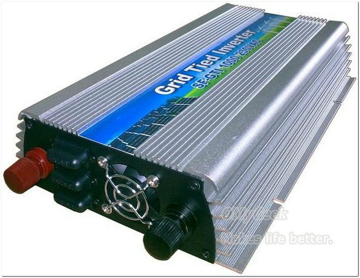 1pc GTI 400W Grid Tie power inverter for solar panel wind  (High Frequency) 10.5-28Vdc grid connected inverter drop shipping