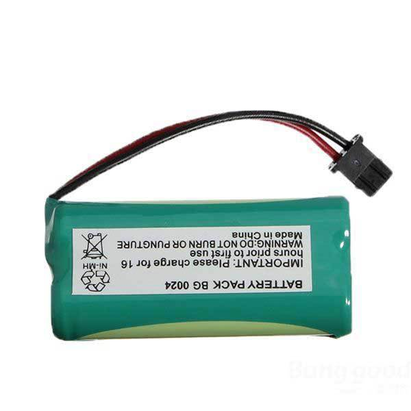 Carrettal 2.4V NiMH Cordless Home Phone Rechargeable Battery For Uniden BT-1016(China (Mainland))