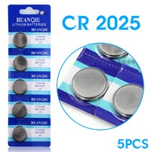 Free shipping+ Hot selling + 5PCS/LOT 2025 CR2025 BR2025 DL2025 KCR2025 L12 Battery New Brand