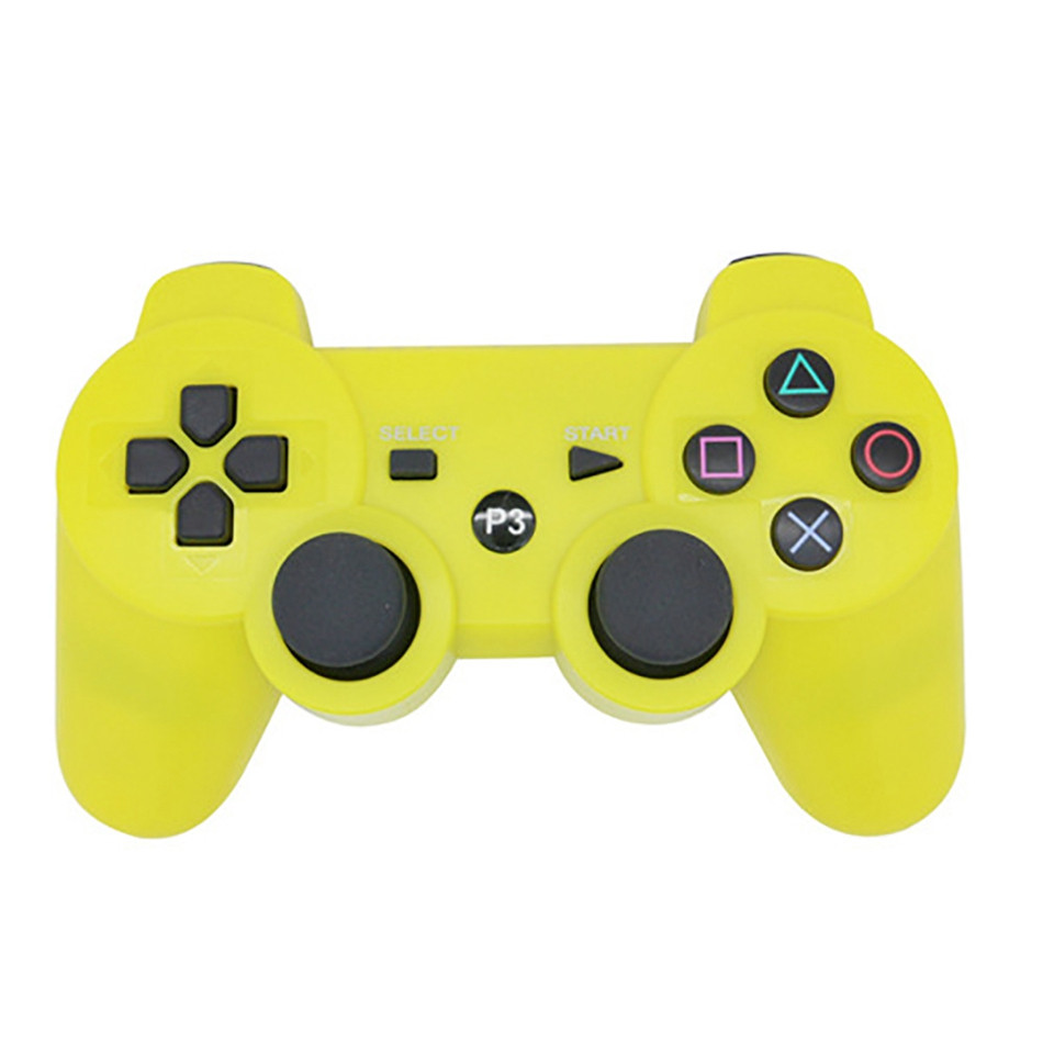 2016 Hot Sale Wireless Controller for PlayStation 3 Dualshock 3 Wireless Bluetooth SixAxis Game pad for PS3 With Logo(China (Mainland))