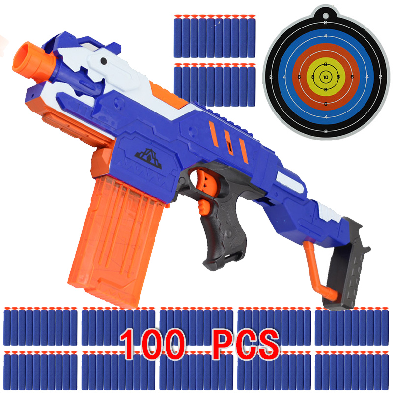 Nerf Toys For Boys : Bullet electric soft toy sniper rifle nerf gun