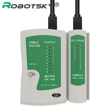 Venda quente Rede de Cabo Testador RJ45 RJ11 RJ12 CAT5/Cat 5e/Cat 6 UTP LAN Cabo de Rede Testador ferramenta(China (Mainland))