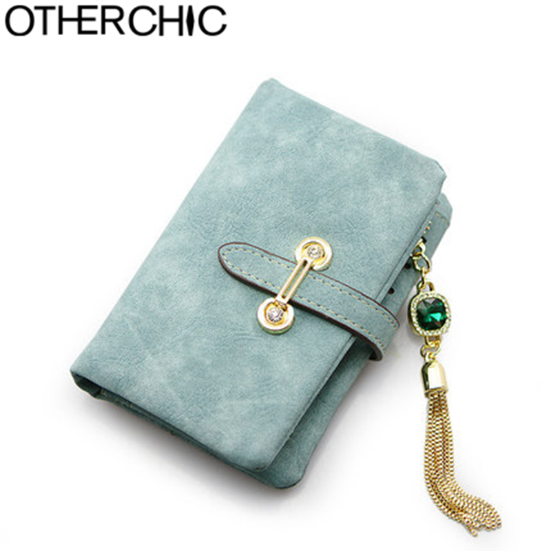 OTHERCHIC Small Wallet Casual Women Wallets Slim Wallet Coin Purse Portefeuille Card Holder Wallet For Women Purses 16Y04-20(China (Mainland))