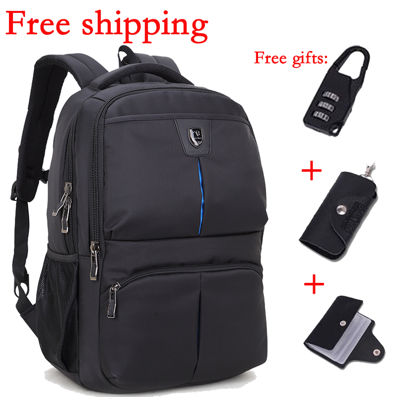 Oxford cloth soft backpack large capacitys student computer shoulder men outdoor sports bag schoolbag free shipping(China (Mainland))