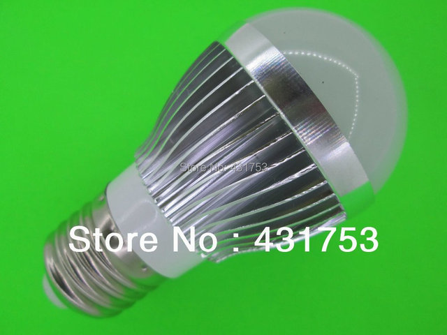 New Arrival New Ccc Ce Rohs Lamps E27 Led Bulb Lamp Ac85 - 265v Dimming Bubble Warm / Cool , 3 * + Free Shipping