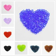 4mm New Arrival Hot Loose Strand Bicone Mixed Faceted Rondelle Acrylic Beads Spacer fit Women Bracelet jewelry making(China (Mainland))