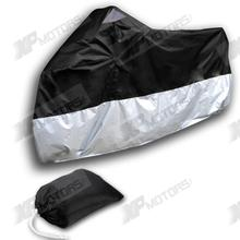 Indoor Outdoor Motorcycle Waterproof Cover For Honda CB250 CB400/450 CB650 CB700/750 CB1000 220*95*110(China (Mainland))