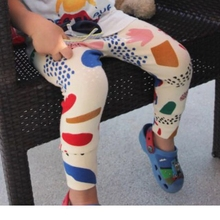 KIKIKIDS 16 New Children Kids Figure Pattern Skinny Pants, Baby Boys Leggings With High Waist in Stock(China (Mainland))