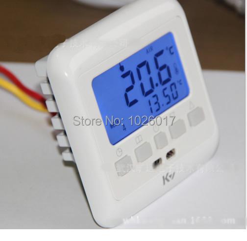 Гаджет   LCD Display Warm Floor Heating Digital Thermostat Underfloor Temperature Controller Weekly Programmable None Строительство и Недвижимость