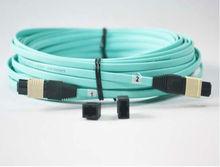 1 Meters MPO/MTP(Female)-MPO(Female) OM3 8strands Fiber optical cable QSFP+SR module - Shenzhen EB-LINK Technologies Co., Ltd store