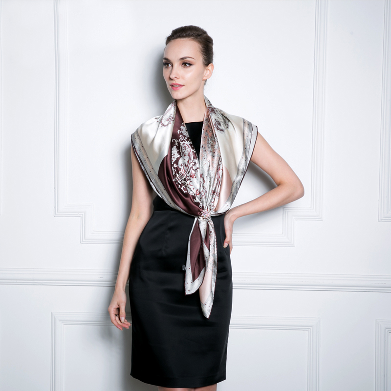 Silk scarf 2015 ultralarge spring and summer silk scarf mulberry silk scarf hangzhou silk quality capeОдежда и ак�е��уары<br><br><br>Aliexpress