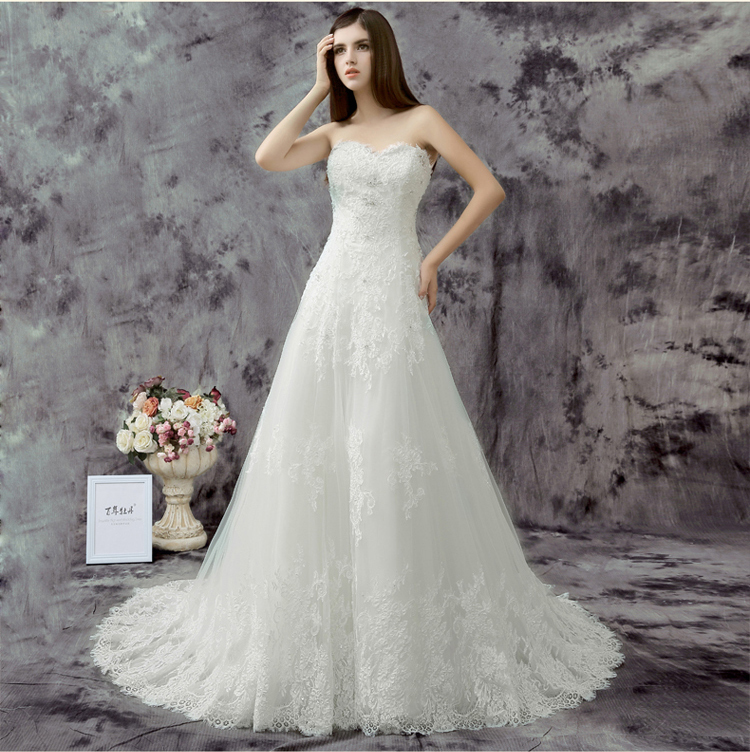 2015 simple small white a line wipe a shoulder sleeveless for Simple wedding dresses for small wedding