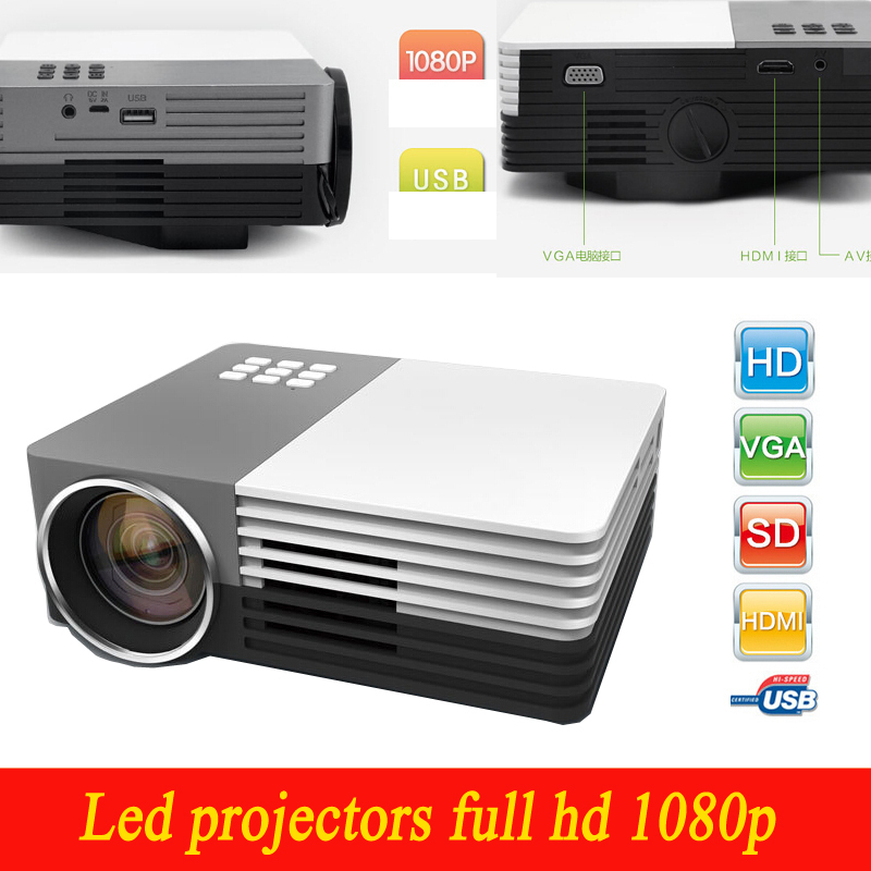 Best price newest led projectors full hd 1080p 3d home for Best compact projector