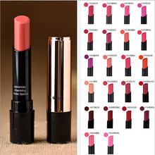 1pcs New Arrival brand beauty red lipsticks makeup waterproof 22 color lipstick cosmetic long lasting batom(China (Mainland))