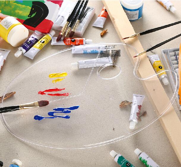 Палитра Oval palette 30 * 40 oil painting palette palette