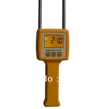 TK100S Corn,wheat,rice,bean,wheat flour tester 4 Digital LCD Grain moisture meter range:5-35% hygrometer