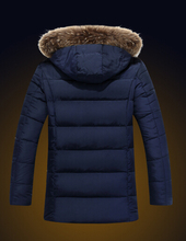 New 2015 Men Winter Jacket US Fashion Brand EA7 Fur Collar Winter Men s Cotton Coats