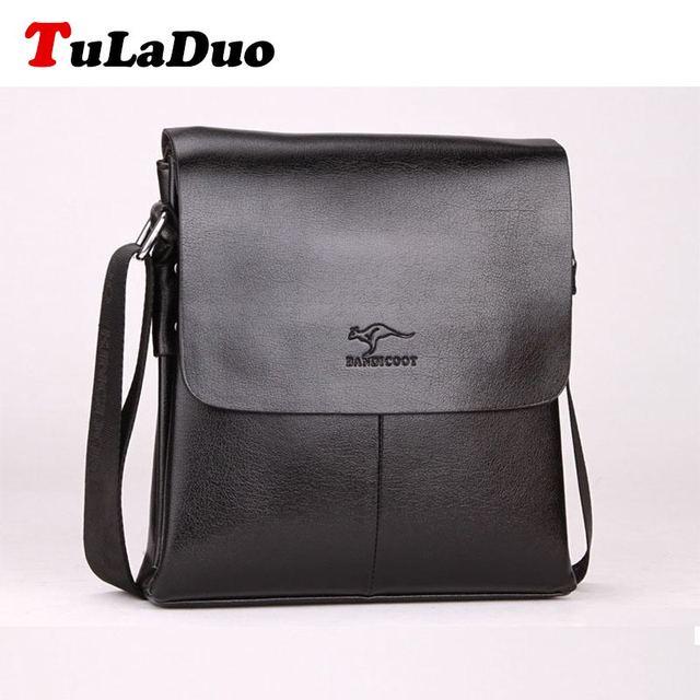 Tuladuo марка Bolsos мужская сумка на плечо бизнес мужчин искусственная кожа мужской ...