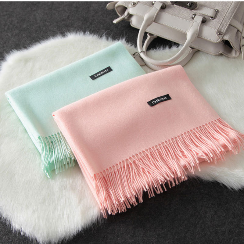 Woman Sjaal Scarves Luxury Brand Scarf Unisex 2016 Female Male Best Quality Wool Cashmere Scarf Pashmina Tassels Women Men Wrap(China (Mainland))