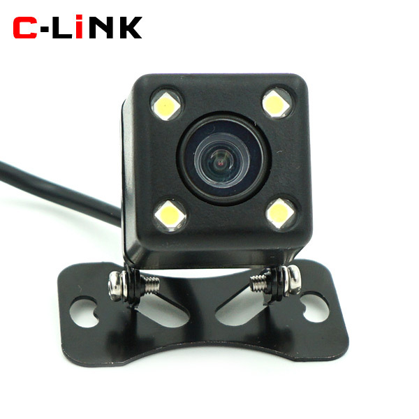 170 Degree Wide View Angle HD CCD Image LED Night Vision Universal Car Parking Backup Reverse Rear View Camera With Parking Line(China (Mainland))