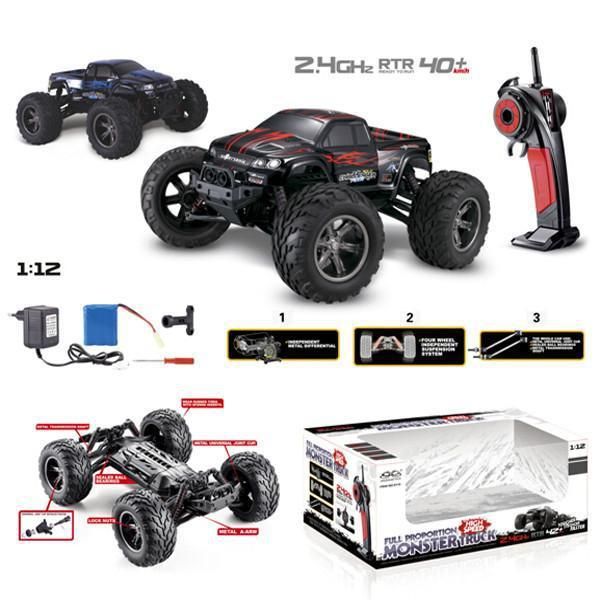 GPTOYS S911 1/12 2WD 40km/h High Speed Remote Control Off Road Cars Classic Toys Hobby/moster truck VS Traxxas WLTOYS A969 A979(China (Mainland))