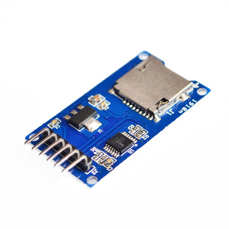 10Pcs/Set Micro SD mini Storage Board TF Card Reader Memory Shield Module SPI for arduino Diy Starter Kit(China (Mainland))
