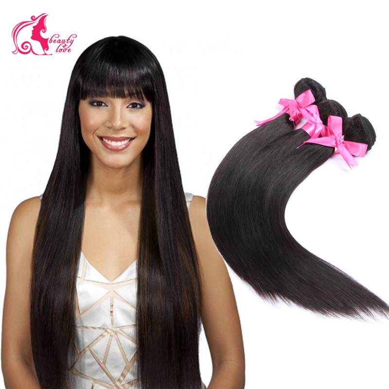 Rosa hair products Indian straight virgin hair extension 7a Unprocessed Indian virgin hair straight human hair weave 4 bundles