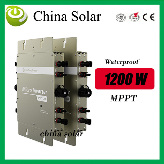 high quality 1200W solar grid tie micro inverter high efficiency& competitive price from factory direct(China (Mainland))