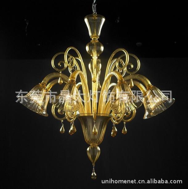 Pendant Lights Hundred enterprises --- Guzhen Modern light, crystal light European-style hotel decorative lighting Crystal Lamp(China (Mainland))