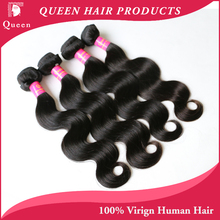 HJ Weave Beauty Hair Brazilian Virgin Hair Body Wave Unprocessed Virgin Brazilian Human Hair Weaves Top Hair Extensions 4 pcs(China (Mainland))