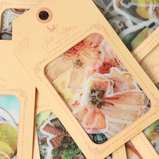 32pcs/set Animal Diary Label Stickers Pack Decorative Mobile Stickers Scrapbooking DIY Stickers Escolar Papelaria(China (Mainland))