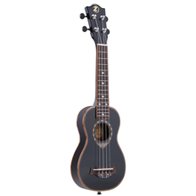 """New Arrival! High Quality 21"""" Ukulele Exquisite Soprano 4 Strings Spruce Ukelele Ultrathin Special Black Color Delicate Design(China (Mainland))"""
