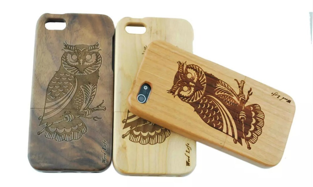 NEW Natural handmade pattern wooden case For iPhone 4G 4S True bamboo cover funda For Apple iPhone4G 4S i4 Shell Phone Cover(China (Mainland))