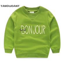 Hot sale,Baby letter sweatshirt,New 2016 spring and autumn children's clothing boys long-sleeve child clothing outerwear(China (Mainland))