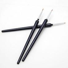 Hot Sale 3 Pcs Nail Art Tips Tools Polish Pen Brush Drawing Stripe Liner DIY Nail Dotting(China (Mainland))