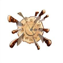 NEW High Quality DIY Wall Decal Clock Fly Cutter 3D Wall Stickers Clock 3D Art Wall Clock(China (Mainland))