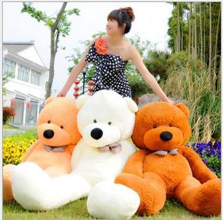 New Plush Stuffed Animal Toy Teddy Bear Soft Plush Doll 120cm super size Toy wholesale price free shipping(China (Mainland))