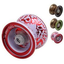 Aluminium conception YoYo billes professionnel ayant Trick String alliage enfants enfants jouet VB221 P12(China (Mainland))