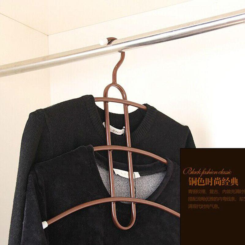 European Cothing Hanger Antiskid Wardrobe Bathroom Towel Coat Hanger(China (Mainland))