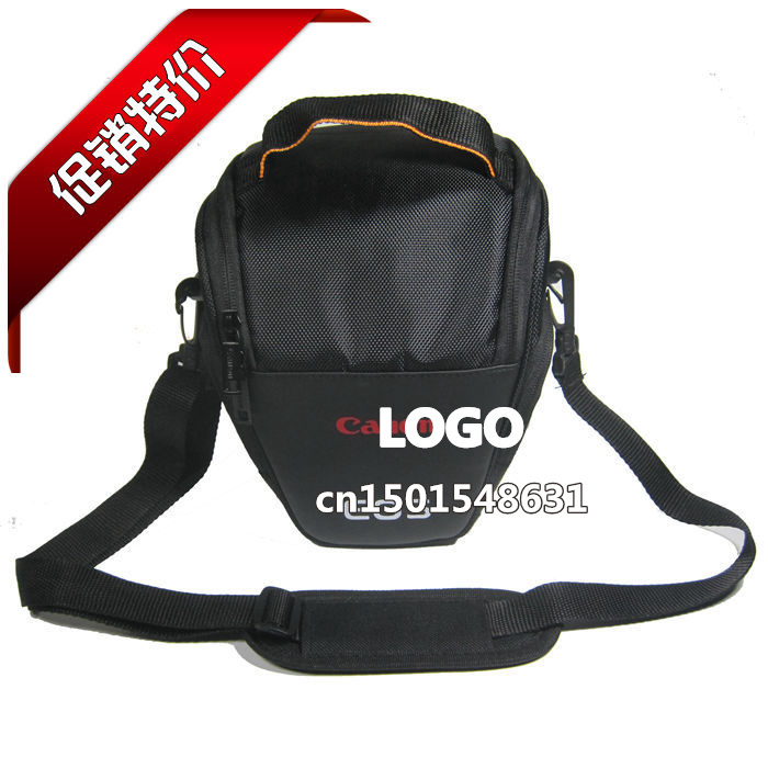Camera/Video Bags for 1100D 1000D 450D 500D 600D 650D 550D 400D 350D 50D 60D 7D 5D II 1D Camera Bag Triangle Shoulder Bag Case(China (Mainland))