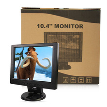 "12"" LCD monitor, Resolution 800*600, TN panel can be used as desktop Computer display, VGA PORT black(China (Mainland))"