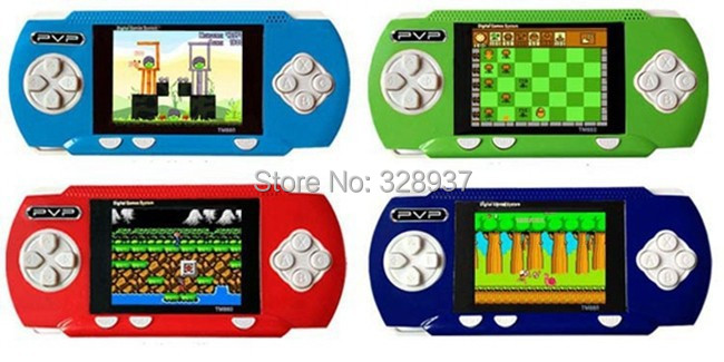 10Pcs/Lot Brand New PVP Pocket 6 Video Games Player Handheld Game Console Wholesale Price!(China (Mainland))