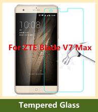 9H 2.5D 0.26mm LCD Front Explosion-proof Tempered Glass Film ZTE Blade V7 Max / 5.5 inch Screen Protector pelicula de vidro - DIRUOMAN Trading Co., LTD store