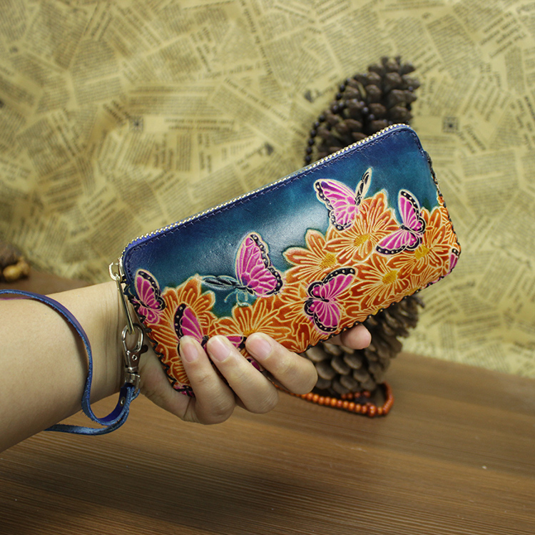 fashion girls clutch long purse wallet