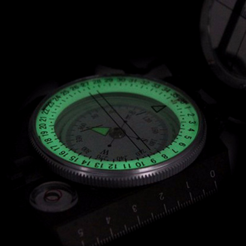 New Arrival Lensatic Compass Military Camping Hiking Metal Survival Marching(China (Mainland))