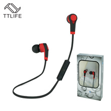 Buy TTLIFE Bluetooth Headset Wireless Earphone Headphone Bluetooth Earpiece Sport Running Stereo Earbuds Mic xiaomi Phones for $7.29 in AliExpress store