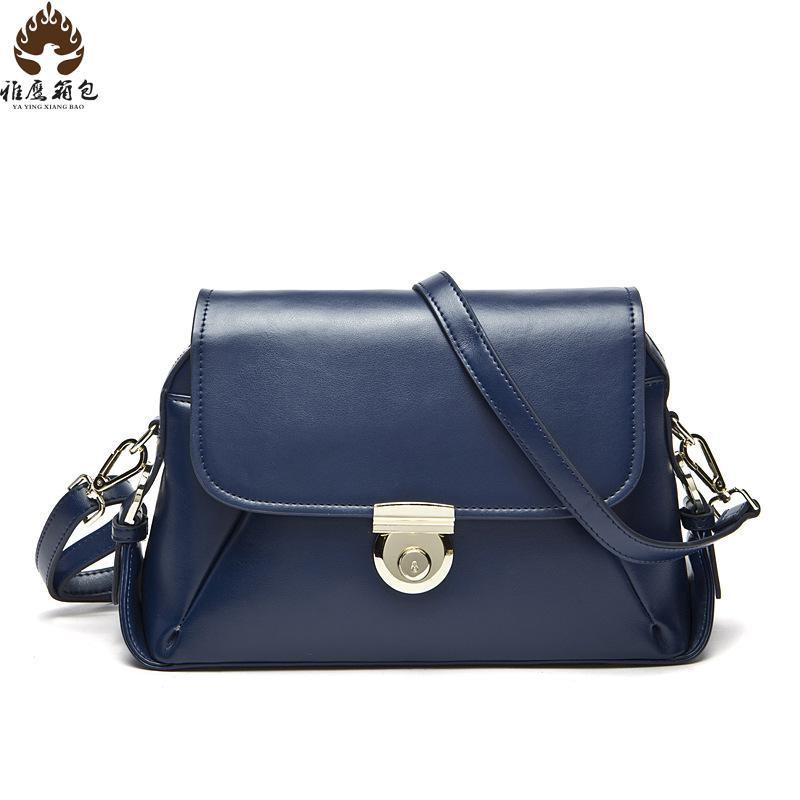 2016 New Luxury Leather Bag Handbags Famous Brands For Women Ladies Handbag Women Shoulder Bag Genuine Leather Branded Bags